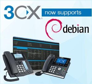Installing 3CX using 3CX Debian ISO